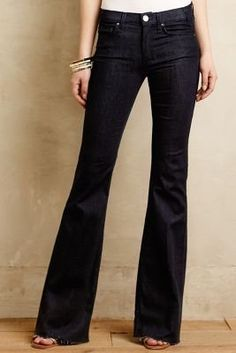 Anthropologie McGuire Majorelle Flare Jeans Midnight Sun 29 Denim