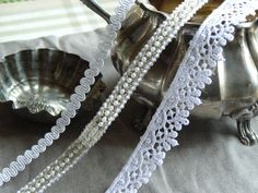 Sweet ribbons Ribbons, Pearl Necklace, Pearls, My Love, Sweet, Jewelry, Products, String Of Pearls, Candy