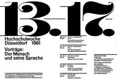 Breker (Walter, DE) 1961 Hochschulwoche Düsseldorf 1961 Plakat A1 | Flickr - Photo Sharing!