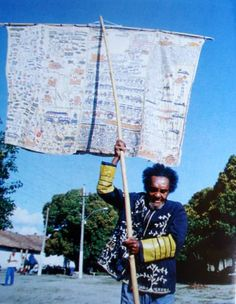 ARTHUR BISPO DO ROSARIO (1909-1989) http://otrasvocesdelver.tumblr.com/post/1354615197/arthur-bispo-do-rosario-1909-1989