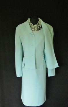 Long dress and matching jacket