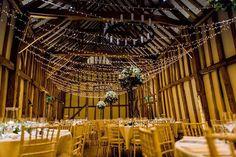 The Great Barn at Micklefield Hall Shot by Luna Photography Rustic Wedding, Wedding Ideas, Fairy Lights, Professional Photographer, Lanterns, Fair Grounds, Wedding Lighting, Winter Weddings, Photo And Video