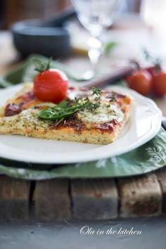 Ola in the Kitchen: Pizza bezglutenowa Mozzarella, Quiche, French Toast, Chicken, Meat, Breakfast, Kitchen, Food, Morning Coffee