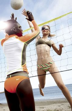 Beach Volleyball #Nordstrom #Nike #GetMoving