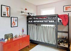 bottom bunk curtains