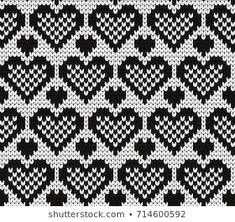 Benzer knitted seamless pattern Görselleri, Stok Fotoğrafları ve Vektörleri - 313433597 Fair Isle Knitting Patterns, Knitting Charts, Knitting Stitches, Baby Knitting, Harry Potter Knit, Crochet Tablecloth, Tapestry Crochet, Knitting Projects, Cross Stitch Embroidery