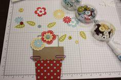 Flowerpot card tutorial and template
