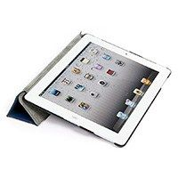 Product Image for Ergo Stand and Cover for iPad® 3 - Blue - for $13 pretty nice