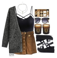 """""""#Romwe"""" by credentovideos ❤ liked on Polyvore featuring Gucci, D.L. & Co. and Closed"""