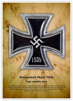 Nazi German Word Document Template is one of the best Word Document Templates by EditableTemplates.com. #EditableTemplates #PowerPoint #templates War #Military #Hitler #Symbol #Sign #Old #Courage #Iron #Nazism #Gold #Award #History #Germany #Battle #Campaign #Ww2 #Wwii #Cross #Vintage #Brave #Medal #Army #Retro #Angle #Fascism #Honor #Adolf #Power #Europe #Teutonic #Silver #Ww #Insignia #Iron Cross #Bravery #Metal #Ideas #Abstract #Religous #Soldier #Nazi #Adolf