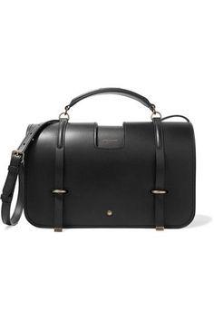 Saint Laurent | Charlotte leather shoulder bag | NET-A-PORTER.COM