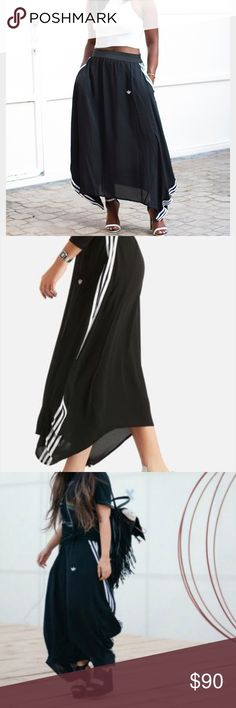 Nwt adidas berlin logo skirt U.K. 8 us 4 new with tags. Sold out! adidas Skirts Maxi