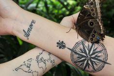 89 Meilleures Images Du Tableau Tatouage Horloge Boussole Tattoo