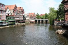 Luneberg, Germany. we stayed in the tower overlooking this, in the Grimm suite ~fairy tale.