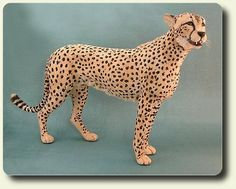 CDHM Artisan and IGMA Fellow Kerri Pajutee creates 1:12 scale, hand sculpted furred animals in scale miniature