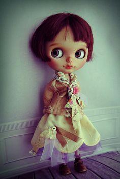 Blythe special outfit - set: skirt + jacket + tulle skirt (tutu) for blythe or similar dolls
