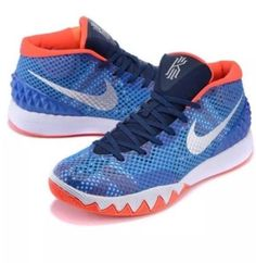 fa985000fd31 Nike Kyrie 1 GS USA Independence Day Blue White Red 717219-401 5.5 Youth NEW