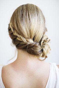 Peinados para Novias Recogidos para el costado 17