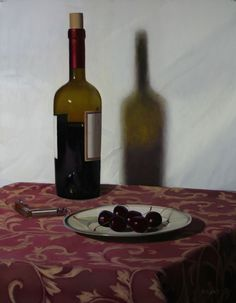 Cabernet and Black Cherries by Danny Grant at Quent Cordair Fine Art - The…