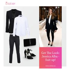 Jessica Alba, Get The Look, Campaign, Content, Suits, Medium, Board, Blog, Fashion