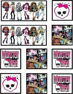 Free printable MH Stickers. Just use sticker paper and cut out