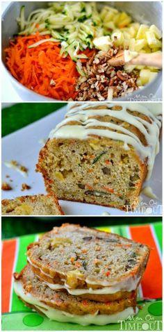 Yummy Recipes: Carrot Zucchini Apple Bread recipe.