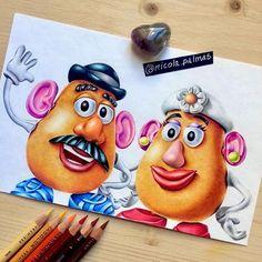 Brilliant Draw A Glass Ideas. Exquisite Draw A Glass Ideas. Pencil Art Drawings, Art Drawings Sketches, Cartoon Drawings, Cartoon Art, Cute Drawings, Easy Disney Drawings, Disney Character Drawings, Disney Sketches, Disney Paintings