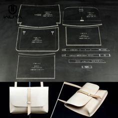 Wuta-Shoulder-Bag-Acrylic-Leather-template-Handbag-Pattern-861