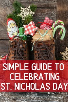 A simple guide to celebrating st Nicholas day tradition in the catholic home. A wonderful way to encourage children and to add religious traditions to the domestic church. Toddler Christmas, Prim Christmas, Retro Christmas, Christmas Crafts, Father Christmas, Christmas Trees, Preschool Christmas, Christmas Goodies, Country Christmas