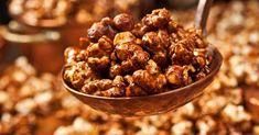 Pipoca é vendida em sabor chocolate belga e calhambeque