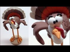 One more suggestion for Christmas or the day of thanksgiving Materials used in this project: - Polymer clay (Fimo soft) -Aluminium foil - Aluminium wire Mais...