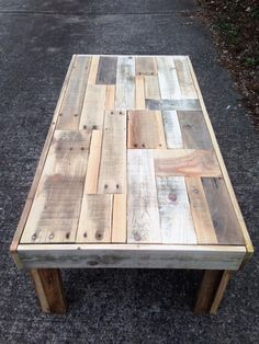 Coffee table Reclaimed Wood Coffee Table by EraLeaven on Etsy $325