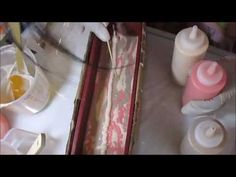 Making Miss Sassy Squeeze Bottle Challenge Soap Making Video - YouTube