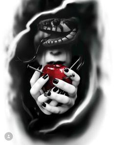 Michaela D. Tribal Forearm Tattoos, Leg Tattoos, Body Art Tattoos, Print Tattoos, Sleeve Tattoos, Cool Tattoos, Demon Tattoo, Dark Tattoo, Snake Tattoo