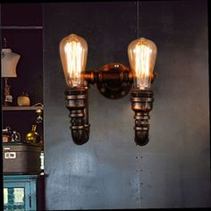 Lovely Smuxi E27 Vintage Industrial Swing Arm Wall Light Bowl Sconce Loft Rustic Iron Material Lamp Lampshade For Restaurant Bar Home Attractive Designs; Lights & Lighting