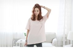 Pinksisly Long Tee, Tees, Shirts, Women's Clothing, Tunic Tops, Clothes For Women, Casual, How To Wear, Shopping