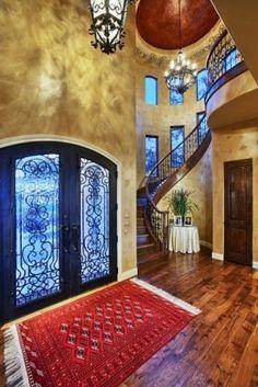 Stunning entryway!