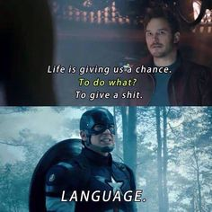 Captain America Meme Language