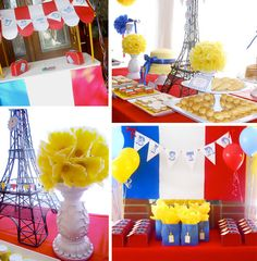 Madeline-themed birthday party, part deux.