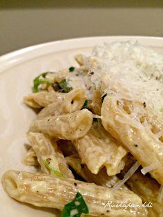 Ruokapankki: Sitruunainen pasta #ruokapankki #ruokablogi #lemon #pasta
