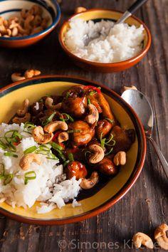 Cola chili kip met cashewnoten | Simone's KitchenSimone's Kitchen