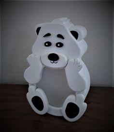Polar Teddy Bear Bank