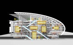 urban marketplace architecture - Google Search