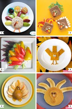 Healthy turkey snacks for kids - perfect at Thanksgiving!