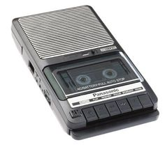 Panasonic Slim Line Cassette Tape Recorder Model RQ-2102 #Panasonic #cassette #Slim