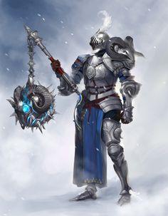 ArtStation - Goat King knight, bom Yeon