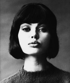 An unidentified woman - Photographed by Wingate Paine - c. 1965