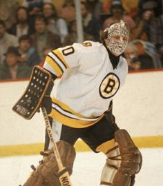Gerry Cheevers | Boston Bruins | NHL | Hockey