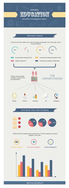 Education Investigation Infographics