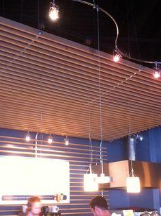 34 Awesome wood slat ceiling images